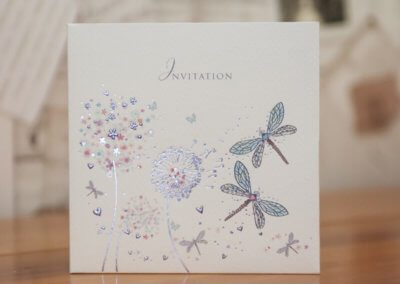 Wedding Invite Dandilion