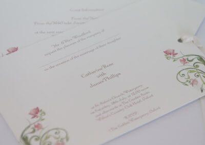 Wedding Invite Rose