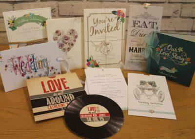 Wedding Invite Selection