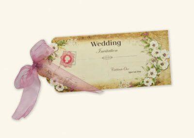 Wedding Invite Tag