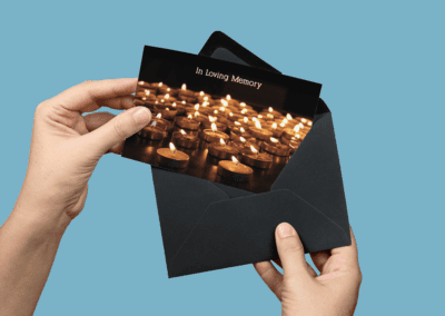 memorials card