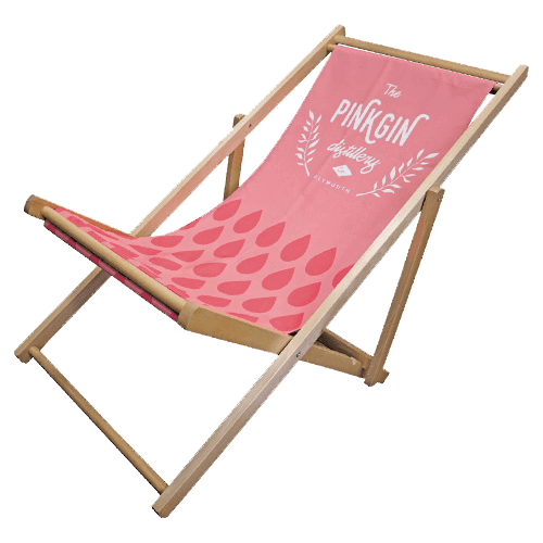 athlone printing deck chair
