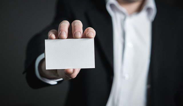 Creating a Neat Yet Efficient Business Card