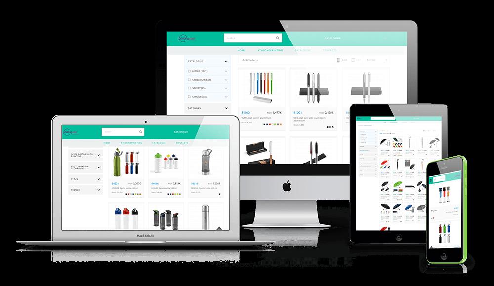 Online Catalogue Mock-up